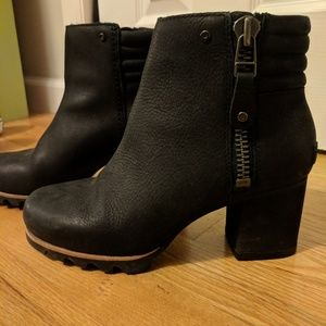 Danica Leather Booties